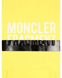 Moncler Genius - Fragment コットンスウェットフーディ - Lyst