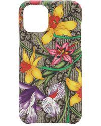 Gucci Чехол Gg Flora Для Iphone 11 Pro - Многоцветный