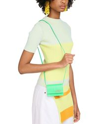 Jacquemus Le Bello Lizard Embossed Leather Bag - Green