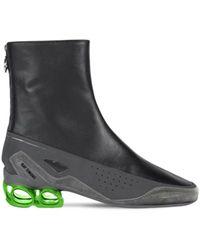 Raf Simons Кожаные Ботинки Cycloid-4 - Многоцветный