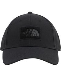 The North Face 7se Cotton Baseball Hat W/velcro Patches - Black