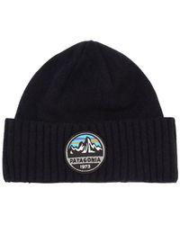 Patagonia - Brodeo Wool Blend Beanie Hat - Lyst