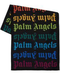 Palm Angels Полушерстяной Шарф - Многоцветный