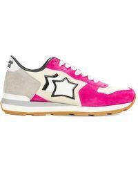 Atlantic Stars Vega Suede & Nylon Trainers - Multicolour