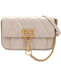 Givenchy - Mini Pocket Quilted Leather Bag - Lyst