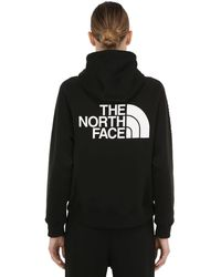 The North Face Womens Nse Graphic Po Sweatshirt Hoodie - Black