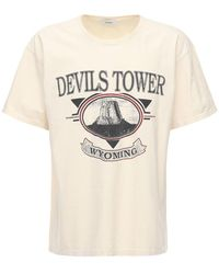 Rhude Camiseta con motivo gráfico - Blanco