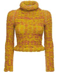 Sunnei Ruched Sweater - Multicolor