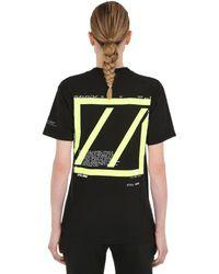 Still Good Movement Cotton Jersey T-shirt - Black
