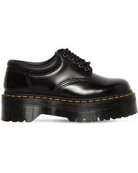 """Dr. Martens - Zapatos """"quad"""" De Piel 40mm - Lyst"""