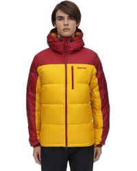 Marmot Guidesフード付きダウンジャケット - マルチカラー