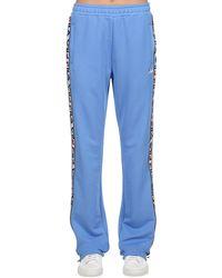 Fila Pantalones Deportivos Con Bandas Laterales - Azul