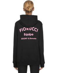 Fiorucci - Oversized Printed Sweatshirt Hoodie - Lyst