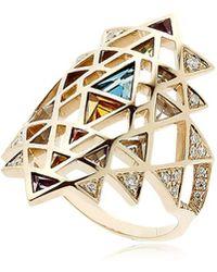 Noor Fares | Nila Gold Ring | Lyst