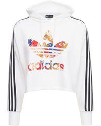 adidas Originals Свитшот С Капюшоном - Белый