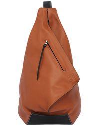 Loewe - Anton Leather Backpack - Lyst