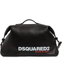 DSquared² - レザーダッフルバッグ - Lyst