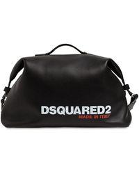DSquared² Большая Сумка С Принтом Логотипа - Черный