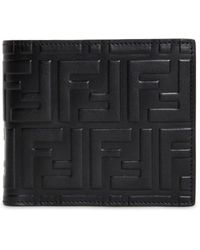 Fendi Bi-fold Wallet - Black