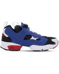 """Reebok Sneakers Aus Nylon """"instapump Fury"""" - Blau"""