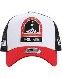 KTZ North Face X Baseball Hat - White