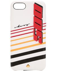 Chaos Speed 500 Leather Iphone X/xs Cover - White