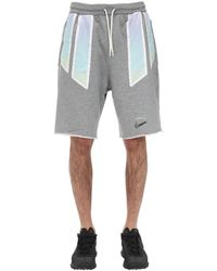 Nike Pigalle Nrg Cotton Sweat Shorts - Gray