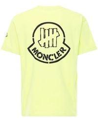 Moncler Genius Undefeated コットンジャージーtシャツ - イエロー