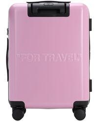"Off-White c/o Virgil Abloh Kleiner Trolley ""for Travel"" - Pink"