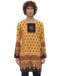 Gucci Рубашка Из Хлопка - Многоцветный