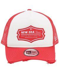 KTZ Ne Patch Trucker Hat - Red