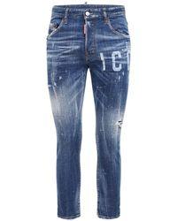 DSquared² Jeans Skater In Denim 16cm - Blu