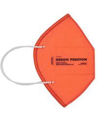 Heron Preston Wiederverwendbare Techno-maske - Orange