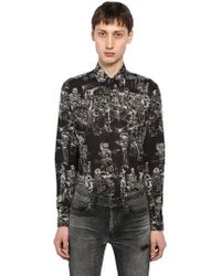 "Saint Laurent - Camicia ""yves Mexican Fête"" In Cotone - Lyst"