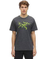 "Arc'teryx T-Shirt En Coton ""Archaeopteryx"" - Gris"