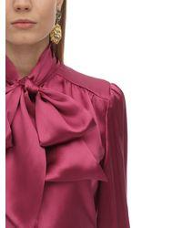 Gucci Bluse Aus Seide Und Viskose - Mehrfarbig