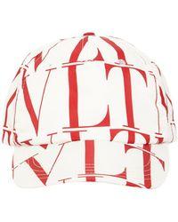 Valentino Garavani Valentino Garavani Шапка Vltn Times Из Нейлона - Красный