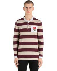 Kent & Curwen - Rose ラグビーコットンポロシャツ - Lyst