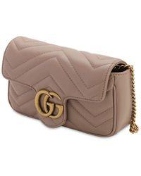 Gucci Gg Marmont レザーバッグ - マルチカラー