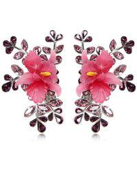 DSquared² | Secret Garden Clip-on Earrings | Lyst