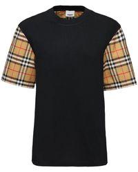 Burberry T-Shirt - Schwarz