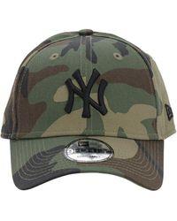 KTZ League Essential Ny Cotton Baseball Hat - Green