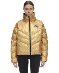 Nike Sportswear Synthetic Fill glänzende jacke - Mettallic