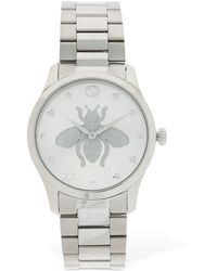 Gucci - G Timeless Bee ウォッチ 38mm - Lyst