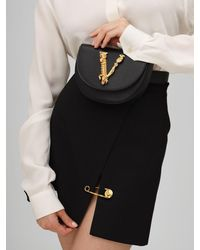Versace - スムースレザー ベルトバッグ - Lyst