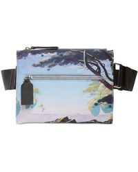 Valentino Garavani Floating Island Nylon Crossbody Bag - Metallic
