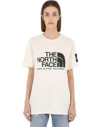 The North Face - Fine Alpine Cotton Jersey T-shirt - Lyst