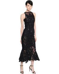 Jonathan Simkhai - Ruffled Lace & Tulle Mermaid Dress - Lyst