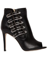 Katy Perry - 100mm Unity Pins Leather Ankle Boots - Lyst