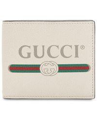 Gucci - Кошелек Из Кожи С Логотипом - Lyst